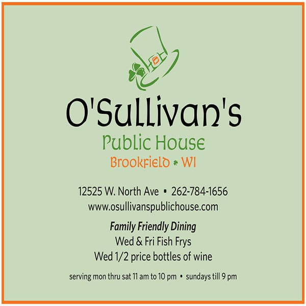 O'Sullivan's Public House Layout
