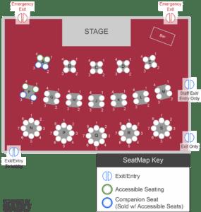 Sunset Playhouse Seating Chart