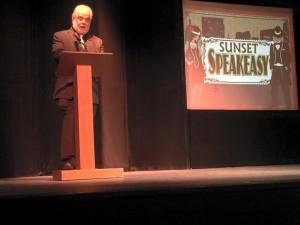Sunset Playhouse Speaker - Volunteers Appreciation Night