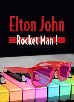 Elton John Rocket Man Sunset Playhouse