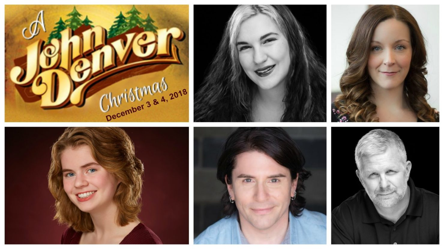 Meet the cast of A JOHN DENVER CHRISTMAS :: Sunset Playhouse