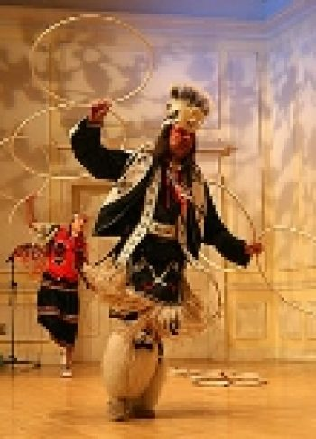 Dallas Chief Eagle American Indian Hoop Dancer