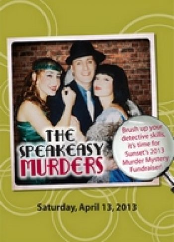 The Speakeasy Murders A Murder Mystery Fundraiser